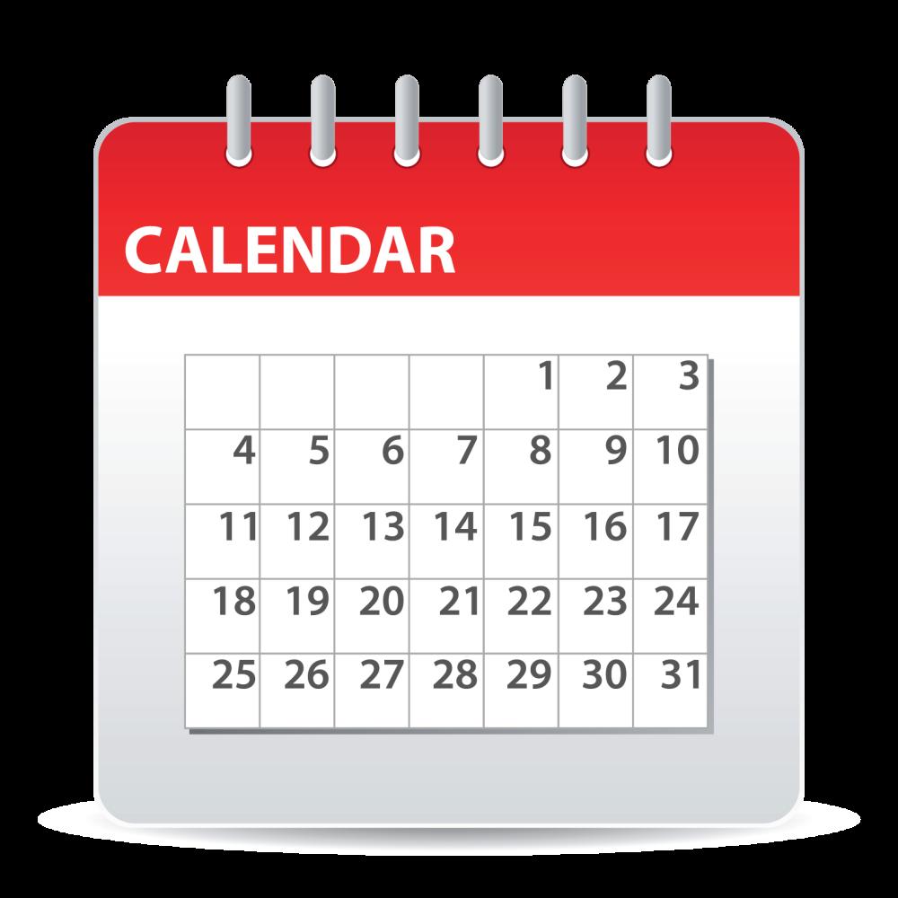 calendar for blog